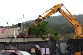 Demolition work gets underway at site of controversial McDonald's restaurant at Tecoma - ABC News (Australian Broadcasting Corporation) | What are the key conflicts occurring in 2013 and where are they happening? | Scoop.it