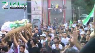 ريف دمشق زملكا لحظة تفجير موكب التشييع 30 62012 | News from Libya | Scoop.it