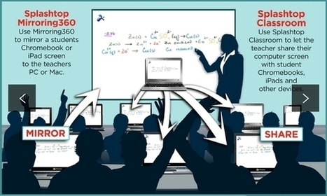 Splashtop Classroom and Mirroring360: Screen Sharing the Way it Should Be   English Studies & more   Scoop.it