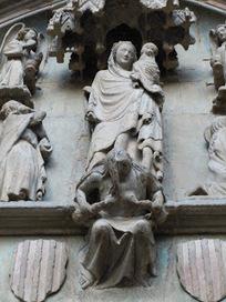 LO INVISIBLE EN EL ARTE:: LO INVISIBLE EN LA ICONOGRAFÍA: La Lujuria, en la Catedral de Huesca (I) | Expresiones Arquitectónicas Cristianas | Scoop.it