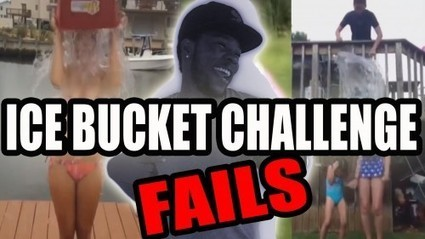 Lol: People Fking up the Ice Bucket Challenge - @Kevin2wokrayzee [Video] | yardhype posts | Scoop.it