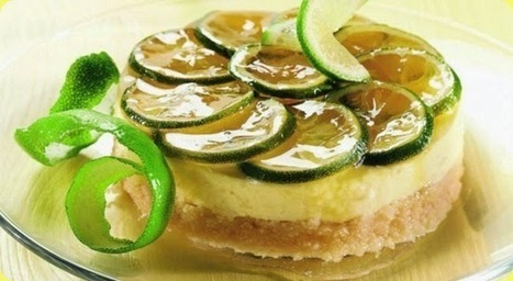Cheesecake al lime e ricotta. | Foods of the World | Scoop.it