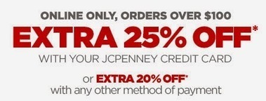 Coupons blog: jcpenney coupons - online only - 20% 25% off with credit card | Coupons blog | Scoop.it