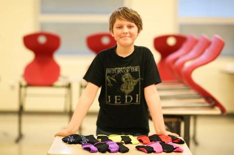 "11-year-old entrepreneur on the ""write"" path with invention - Soapbox Cincinnati | WARREN BUFFETT'S SECRET MILLIONAIRES CLUB | Scoop.it"