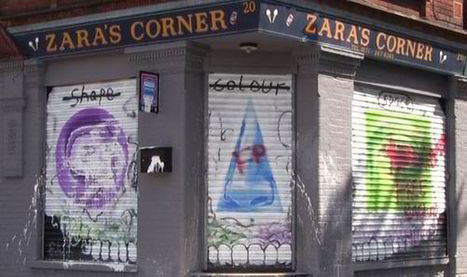 Street art in Tower Hamlets vandalised after youths claim it depicts 'Djall'...the anti-Christ   Street Art   Scoop.it