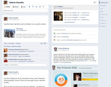 Facebook… Timeline, une révolution de votre profil perso | La Grenouille du Web ® | E-tourisme et nouvelles technologies | Scoop.it