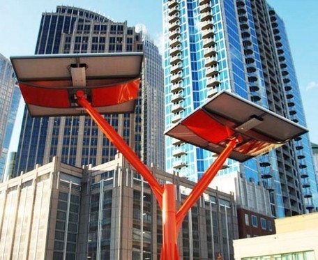 Sculptural Solar Trees Spring Up at Charlotte's Discovery Place Museum | Sustainable Energy | Scoop.it