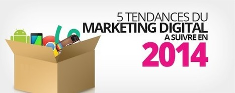 5 tendances du Marketing Digital à suivre en 2014   Marketing, Digital, Advertising   Scoop.it