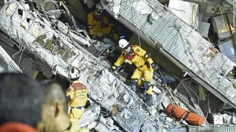Taiwan earthquake: Toppled high-rise built with tin cans - CNN.com | Emergency Mangement | Scoop.it