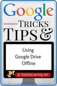 The Guide to Using Google Drive Offline | Skolbiblioteket och lärande | Scoop.it