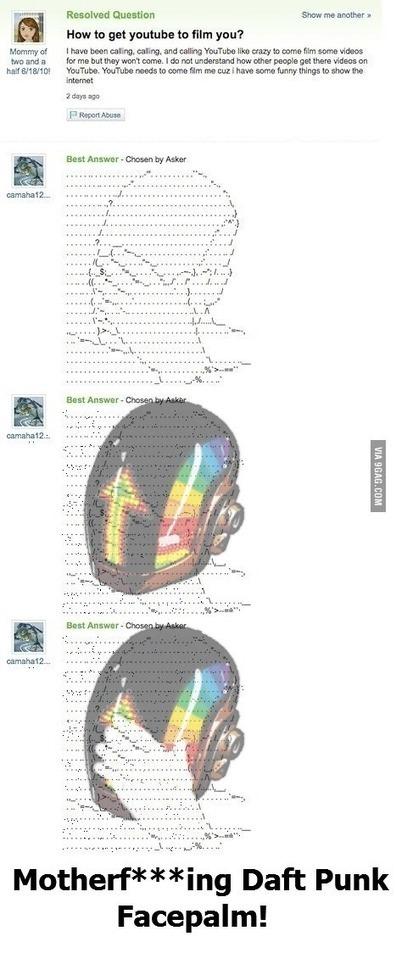 ASCII Daft Punk | ASCII Art | Scoop.it