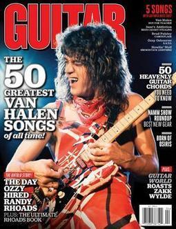 Readers Poll Results: Top 10 Eddie Van Halen Guitar Solos | Around the Music world | Scoop.it