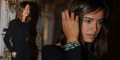 Kasia Smutniak sceglie le murrine verdi di Pandora | fashion and runway - sfilate e moda | Scoop.it
