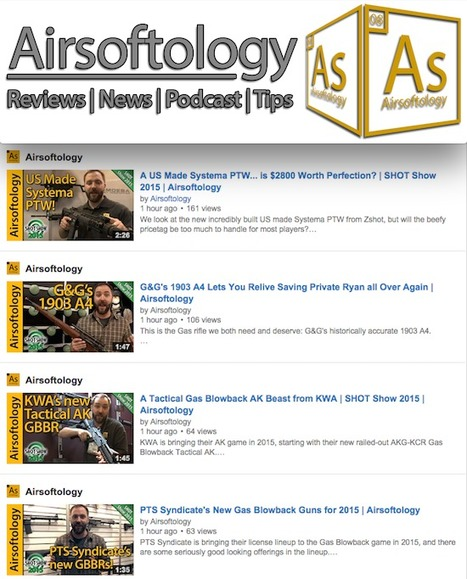 EVEN MORE VIDEOS from BIG J! - Airsoftology on YouTube | Thumpy's 3D House of Airsoft™ @ Scoop.it | Scoop.it