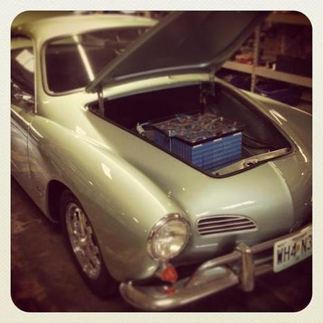 Electric 1967 Karmann Ghia runs on social-media fuel   Awaissoft   Scoop.it