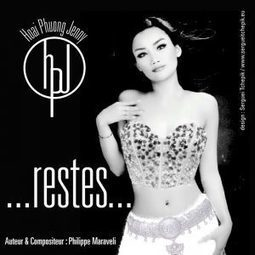 "Hoai Phuong Jenny - ""Restes"" - design de la pochette du single 