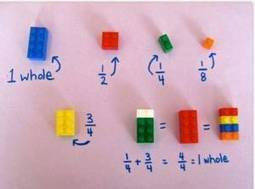 A Simple Way to Teach Fractions Using LEGO [Pic]   Paz's Teaching Resources   Scoop.it