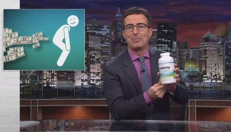 John Oliver Explores the Real Reason for America's Problem with 'Magic' Supplements | Supplements Today | Scoop.it