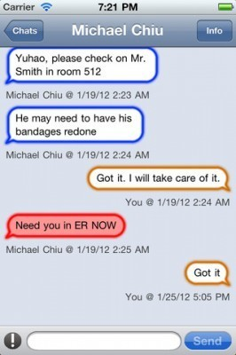 Medigram app allows HIPAA compliant group text messaging between doctors | healthcare technology | Scoop.it