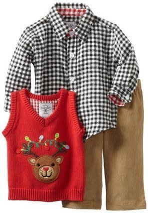 Dress Up Dress Up Little Boys In A 3 Piece Reindeer  Outfit | Kids Clothing | Scoop.it