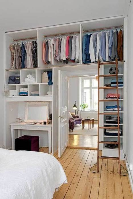 10 ideas para hacer un closet o armario barato. | Mil Ideas | Decoración de interiores | Scoop.it
