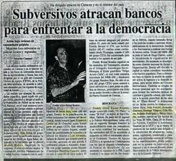 Maduro estaba involucrado en asaltos a bancos. | elsy lamont | Scoop.it