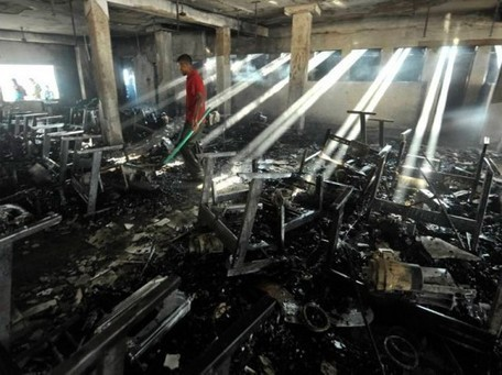 Fire Guts Bangladesh Garment Factory, 7 Killed, 10 Injured | Ecouterre | Ethical Fashion | Scoop.it