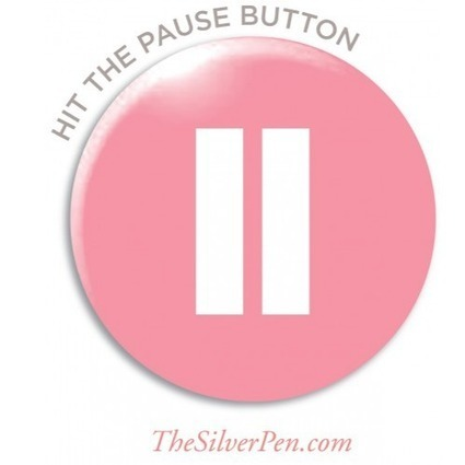 Hit the Pause Button | Unplug | Scoop.it