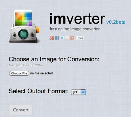 Free Online Image Converter - IMVERTER v0.2 | Wiki_Universe | Scoop.it