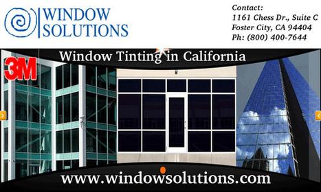 3M Commercial Sun Control Window Films | Window Tint San Jose | Scoop.it