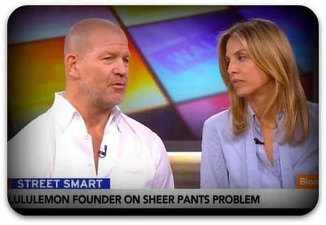 Lululemon co-founder: Some women's bodies 'don't actually work' for yoga pants | Career Advice for the PR Empire | Scoop.it