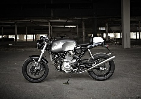 Hearty's GT1000 Cafe Racer | Ductalk Ducati News | Scoop.it