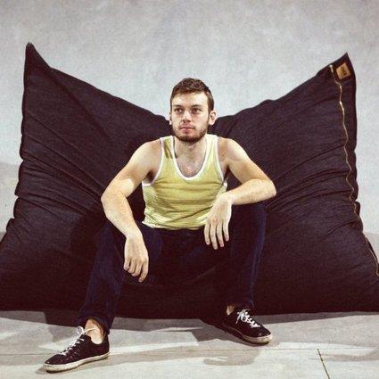 Pillowsaxx Large Denim Bean Bag Lounger | Bean bag Chair | Scoop.it