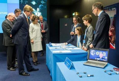 Ruimtevaart in de klas – ESERO | materialen voor meer- en hoogbegaafde kinderen | Scoop.it