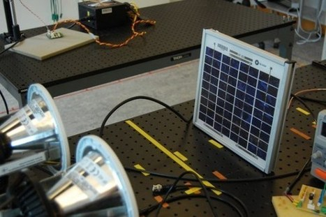 New Technology Uses Solar Cells As Power Source & Li-Fi Data Node | Cool Future Technologies | Scoop.it