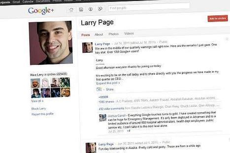 Les astuces de Google pour vous faire utiliser Google+ | toute l'info sur Google | Scoop.it