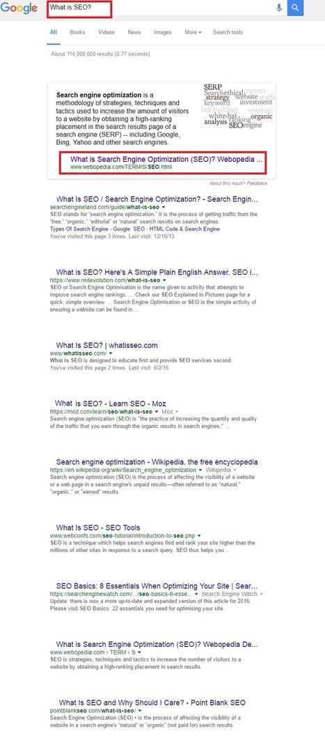 Does Position # 1 Always Matter in SEO? Find Out Why? - Design and Rank | ACSIUS Technologies PVT LTD | Scoop.it