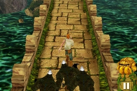 After 100 Million Downloads, Temple Run Celebrates With Retina iPad Update And More   temple run   Scoop.it