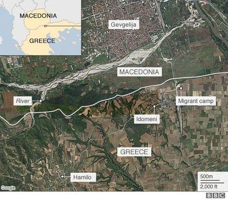 La frontera entre Macedònia i Grècia: mapes per a entendre la crisi dels refugiats | Un poco del mundo para Colombia | Scoop.it
