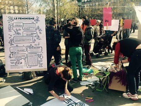A la Nuit debout, les réunions non mixtes des féministes font débat | EuroMed égalité hommes-femmes | Scoop.it