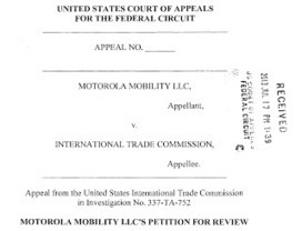 FOSS Patents: Google appeals Motorola's loss to Microsoft in ITC ... | Compliance | Scoop.it