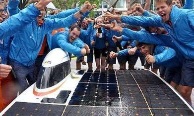 World Solar Challenge: winning Dutch car crosses Australia in 33 hours | Sustainability | Scoop.it