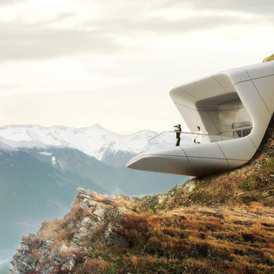 Messner Mountain Museum Corones by Zaha Hadid Architects | Architecture and Architectural Jobs | Scoop.it