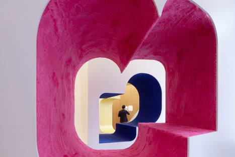"""Jimenez Lai's """"Three Little Worlds"""" now open at the Architecture Foundation 