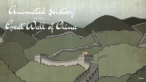 A fascinating animated history of the Great Wall of China   Homework Helpers   Scoop.it