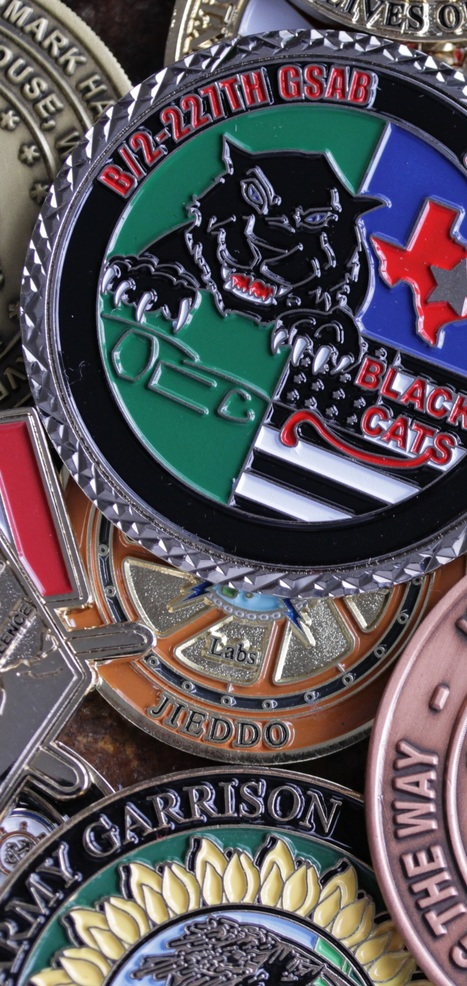 military challenge coin | challenge coins | Scoop.it