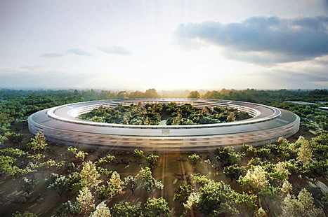 Plans for new Apple HQ, by Norman Foster, officially released | News | Archinect | sustainable architecture | Scoop.it
