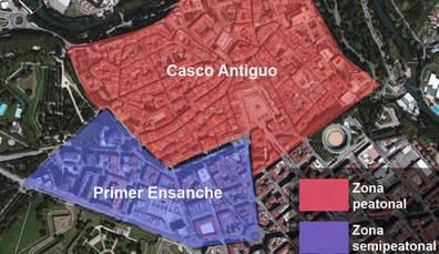 El Ayuntamiento plantea cerrar al tráfico el Casco Antiguo y el Paseo de Sarasate   Ordenación del Territorio   Scoop.it