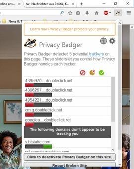 Browser-Plugin sperrt Werbenetzwerke | Privacy Badger | EFF | Free Tutorials in EN, FR, DE | Scoop.it