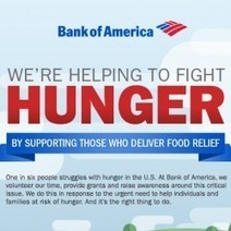 Bank of America Helping to Fight Hunger | Visual.ly | Slide Ideas | Scoop.it